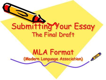 MLA RESEARCH PAPER - MLA Citation Guide Examples: 8th
